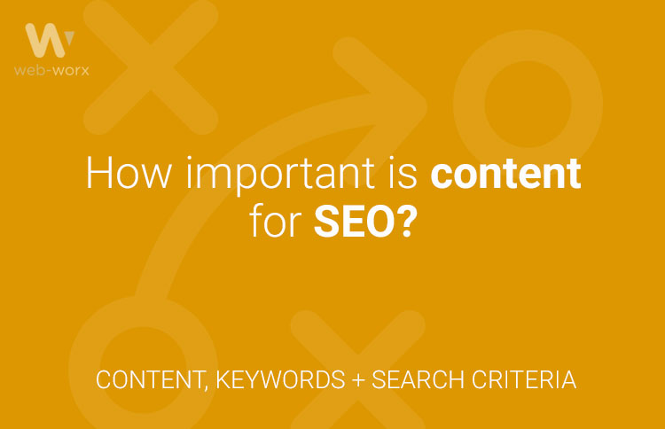How important is content for SEO?